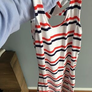Patriotic body con dress